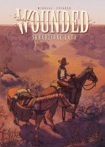 Wounded tom 1: Skradzione lata okładka