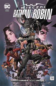 Wieczni Batman i Robin tom 2 okładka