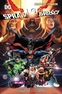 Liga Sprawiedliwości tom 8: Wojna Darkseida okładka
