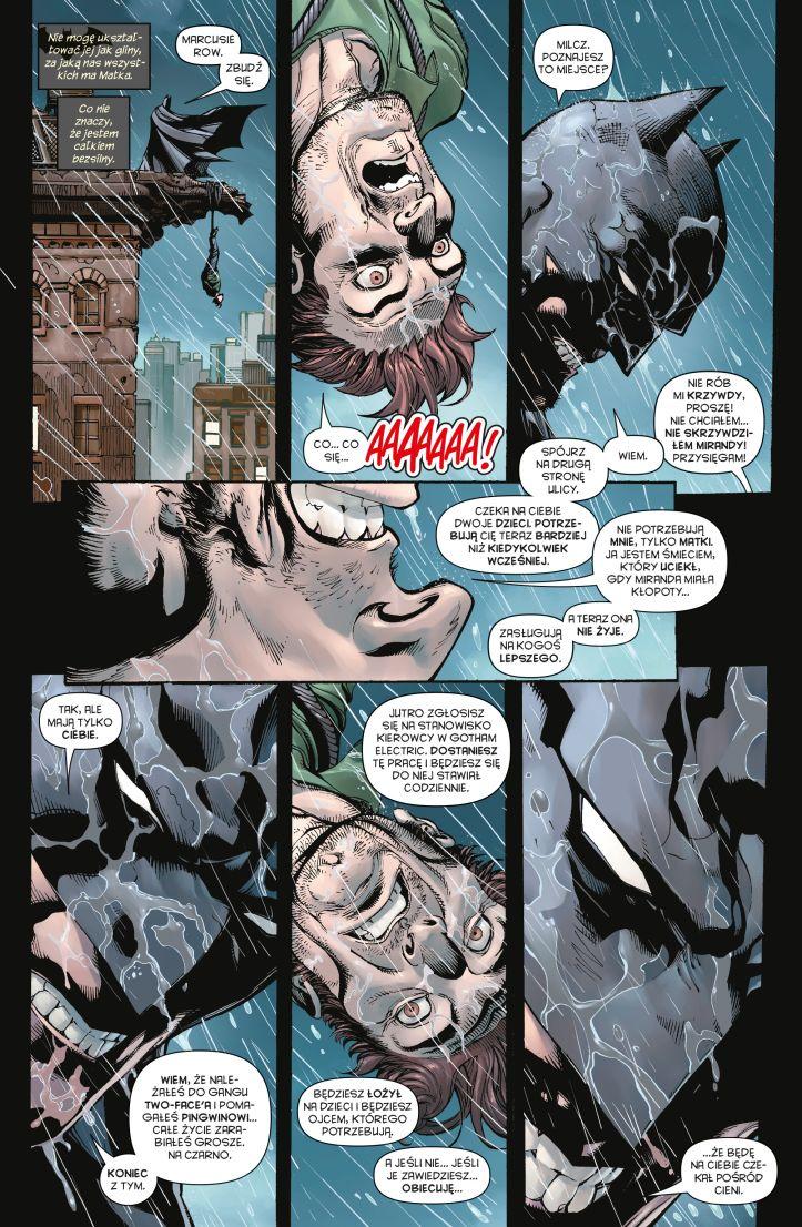 Wieczni Batman i Robin tom 2 przykładowa strona