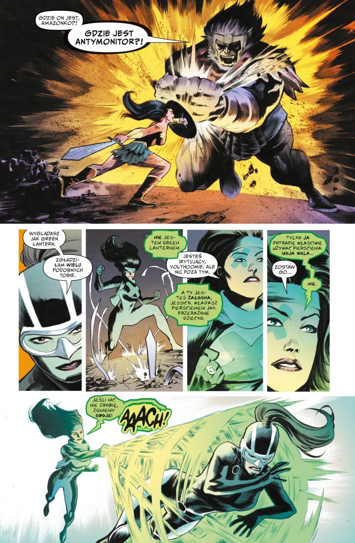 Liga Sprawiedliwości tom 8: Wojna Darkseida strona przykładowa