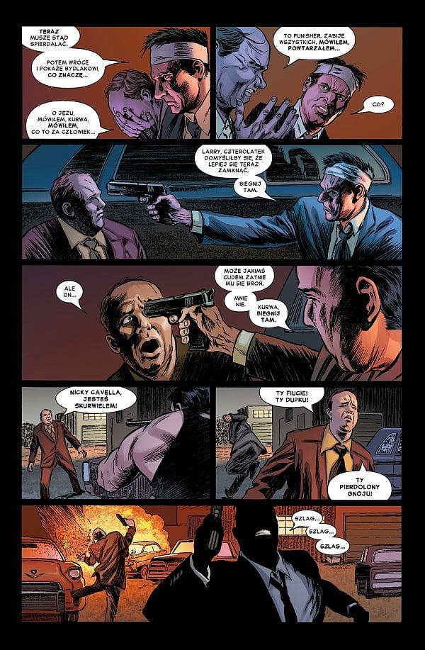 Punisher MAX tom 1 przykładowa strona