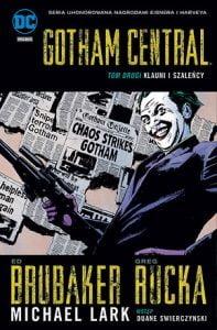 Gotham Central tom 2: Klauni i szaleńcy okładka
