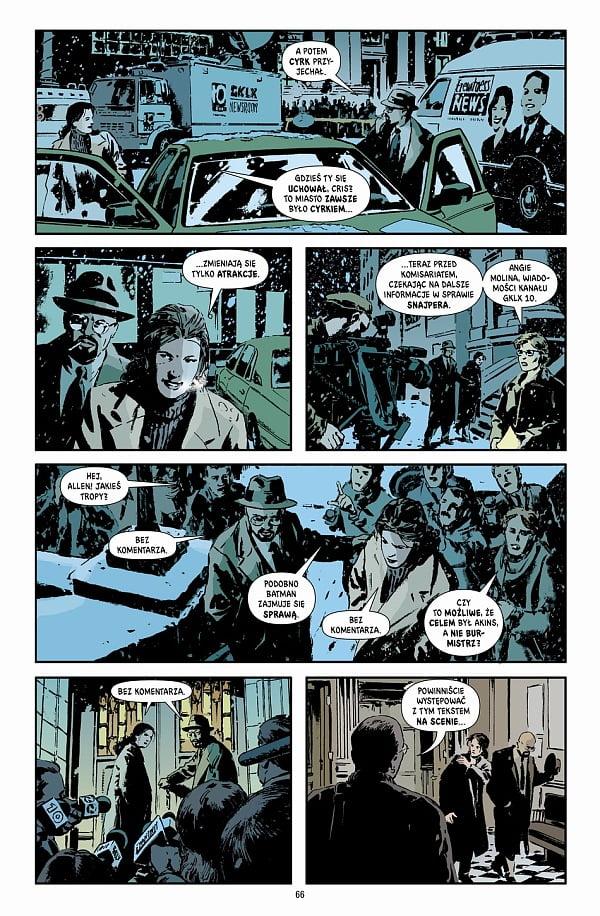 Gotham Central tom 2: Klauni i szaleńcy przykładowa strona