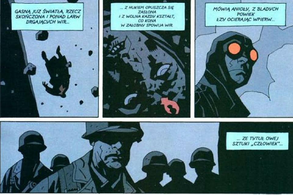 Hellboy tom 3: Zdobywca Czerw. Dziwne miejsca.