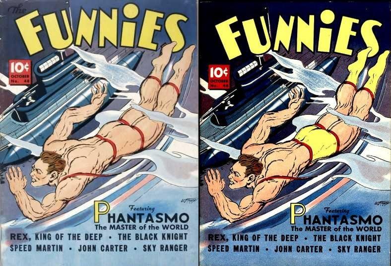 The Funnies 48 - okładki