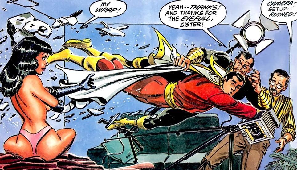 The Power of Shazam! rys.1