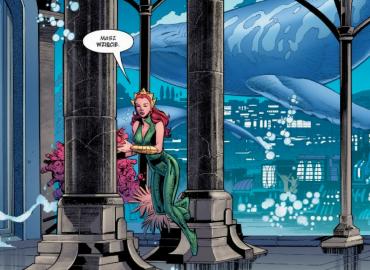 Aquaman tom 2: Nadpływa Czarna Manta