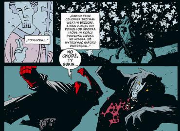 Hellboy tom 2: Spętana trumna. Prawa ręka zniszczenia