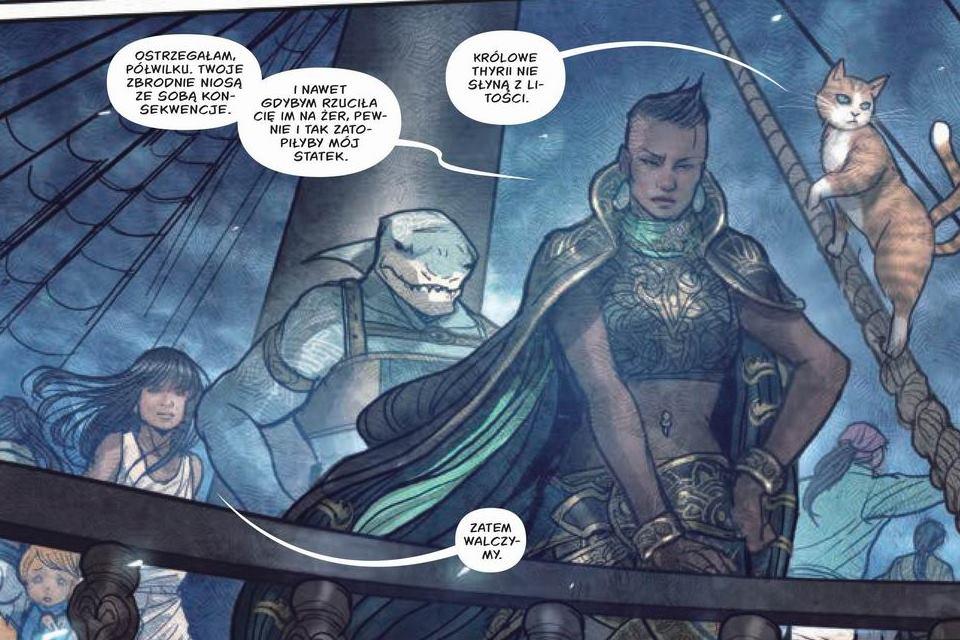 Monstressa tom 3: Przystań