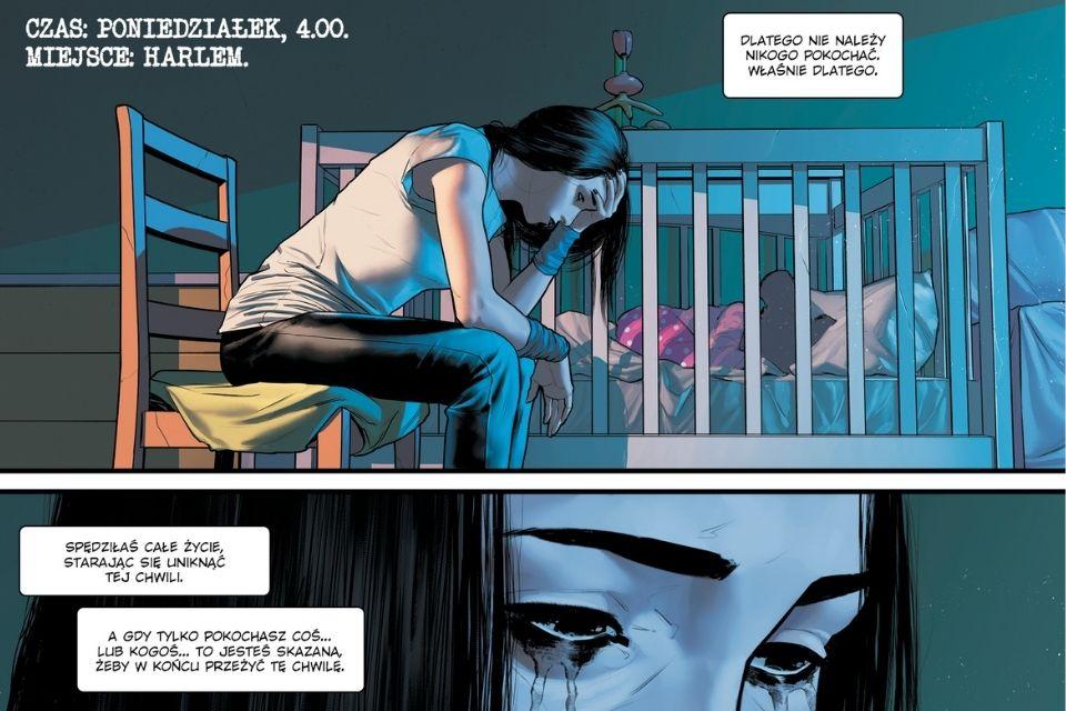 Jessica Jones Fioletowa Córka