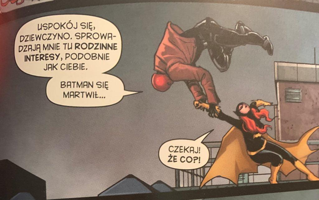 Red Hood i Batgirl wspólne śledztwo
