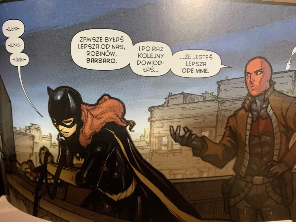 Red Hood usowadnia Batgirl ze to ona jest najlepsza