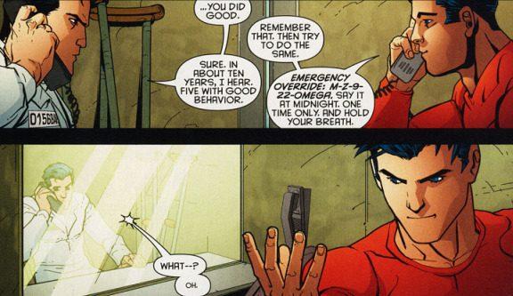 Tim pomaga Jasonowi uciec z więzienia