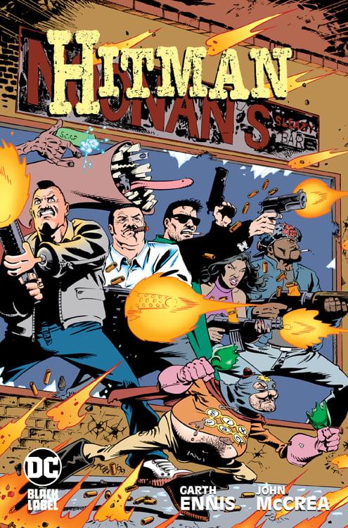 Hitman tom 4 okładka